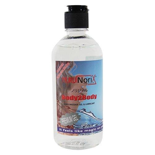 Premium Nuru Gel, Super glatt, Geruchlos, Geschmacklos, Perfekt für Nass Massagen und erotische Ganzkörpermassage, Deluxe Gleitgel & Massage Gel (Medium - 450 ML) (Body Powder Pleasures)
