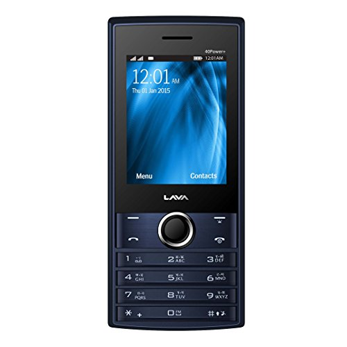 Lava KKT 40 Power Plus (Black-Blue) image