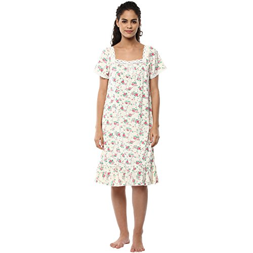 Prettysecrets Women's Cotton Nightdress