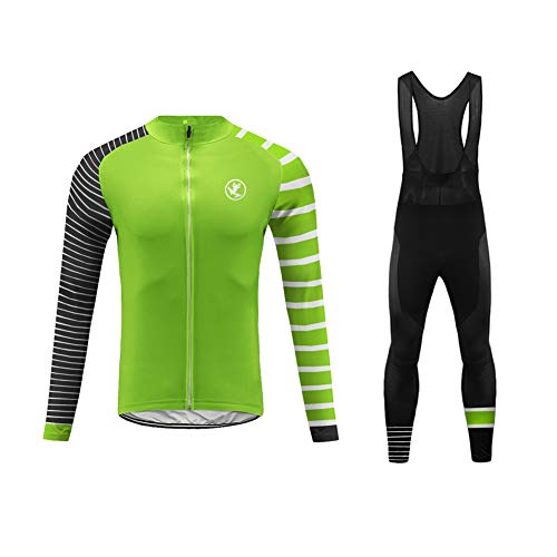 Fox Racing Stoff (Uglyfrog+ 2019 Winter Jersey Thermisches Fahrradtrikot Vlies Thermo Langarm Shirt/Fahrradbekleidung Set Radtrikot Langarm Winddicht Herren Thermische Fleece mit 3D Polster Hosen)