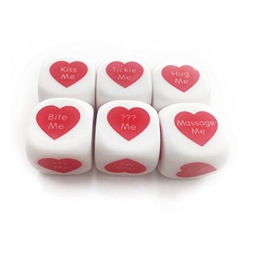 Fundic-Wrfel-6-Seitig-Lustwrfel-Romantik-Erwachsene-Spielzeug-1-Set-7-Wrfeln-pro-Set