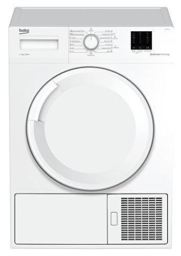 Beko DS7511PA Wärmepumpentrockner / A+++ / 7 Kg / Knitterschutz / reversierende Trommelbewegung / Aquawave Schontrommel / FlexySense - Elektronische Feuchtemessung / Innenbeleuchtung / weiß