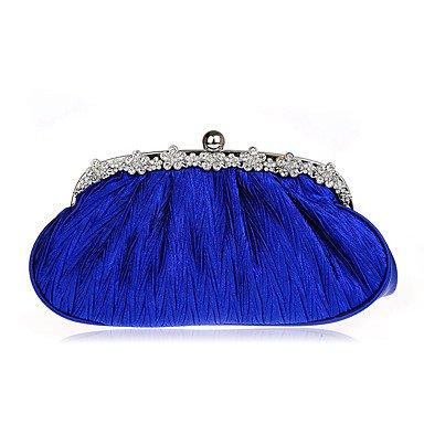 WZW Donna Poliestere Formale / Casual / Serata/evento / Matrimonio / Ufficio e lavoro / Shopping Borsa da sera . fuchsia blue