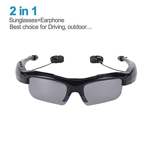 CNKSKXK-glasses Bluetooth-Sonnenbrille Kabelloser Bluetooth-Kopfhörer Stereo-Musik-Kopfhörer Freisprecheinrichtung Fahrbrille Sport Radfahren Sonnenbrille (Kabelloser Kopfhörer Für Läufer)