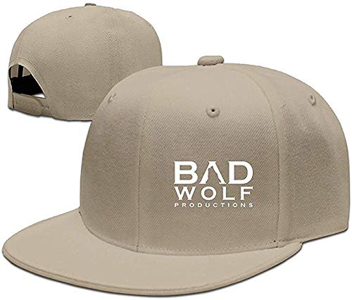 Wamnu YFacsea Runy Custom Bad Wolf Adjustable Baseball Hat & Cap Natural