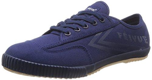 FeiyueFe Lo Plain Tonal - Sneaker Uomo, Blu (Triple Navy/Gum), 43