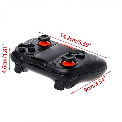 Junlinto Bluetooth VR Game Joypad Controller Gamepad + Holder For