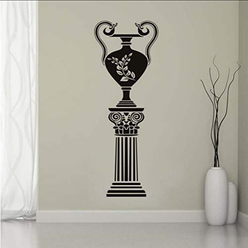 Lkfqjd Antike Griechische Vase Wandaufkleber Wohnzimmer Dekorative Wandbild Vinyl Abnehmbare Diy Wohnkultur Wasserdichte Kunst Decals 42 * 115 Cm - Griechische Vasen