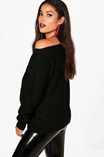 Sarcelle Femmes Mia pull de grossesse tricoté aspect vieilli Sarcelle