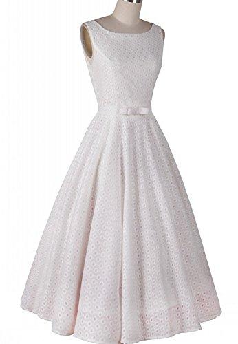 KingField - Robe - Body chemise - Femme Blanc - Blanc