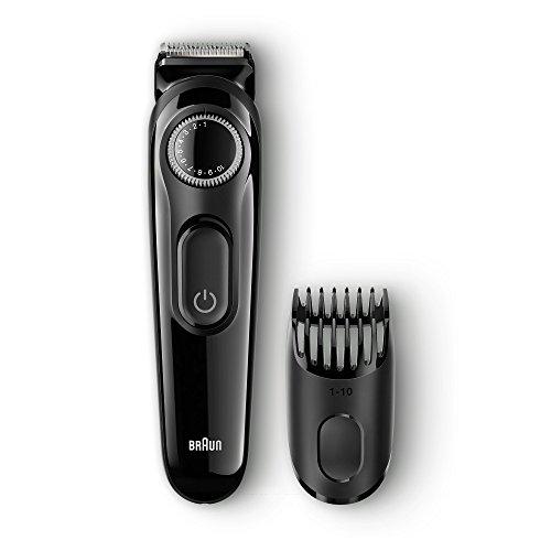 Braun Bartschneider und Trimmer BT3020, 20 Längeneinstellungen, schwarz