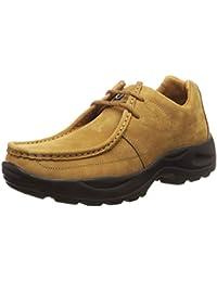 Woodland Men's Camel Leather Sneakers-9 UK (43 EU) (G 4035Y15)