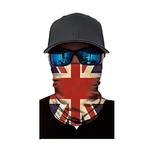 Breathable-Fahrrad Vollgesichtsmaske im Freien windundurchlässigen Kopfbedeckung Maske Schal Multifunktions ()