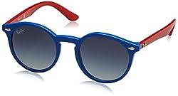 Ray-Ban Gradient Phantos Unisex Sunglasses - (0RJ9064S70204L44 44 Grey Gradient Blue Color)