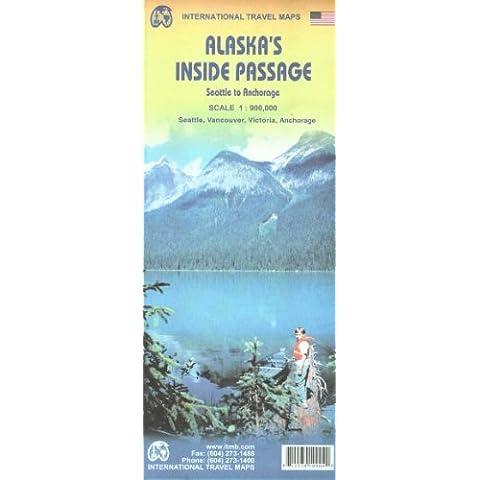 Alaska's Inside Passage 1:900,000 (International Travel Maps)