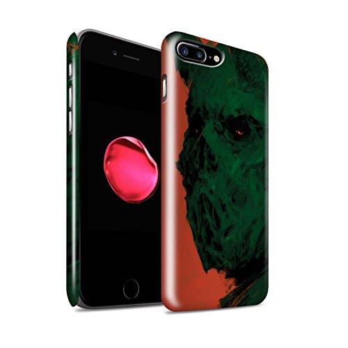 Offiziell Chris Cold Hülle / Glanz Snap-On Case für Apple iPhone 7 Plus / Herzensucher Muster / Wilden Kreaturen Kollektion Ungeheuer/Troll