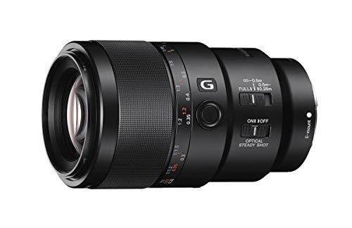 Sony SEL-90M28G G Makro Objektiv (Festbrennweite, 90 mm, F2.8, Vollformat, geeignet für A7, A6000, A5100, A5000 und Nex Serien, E-Mount) schwarz -