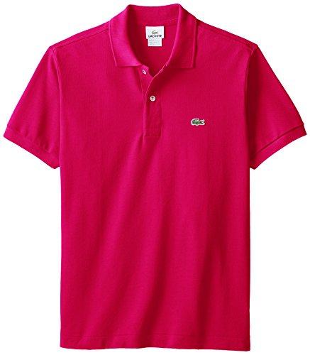 X-Large-Raspberry-Sorbet-Lacoste-Mens-Short-Sleeve-Pique-L1212-Classic-Fit-Polo-Shirt-L1212
