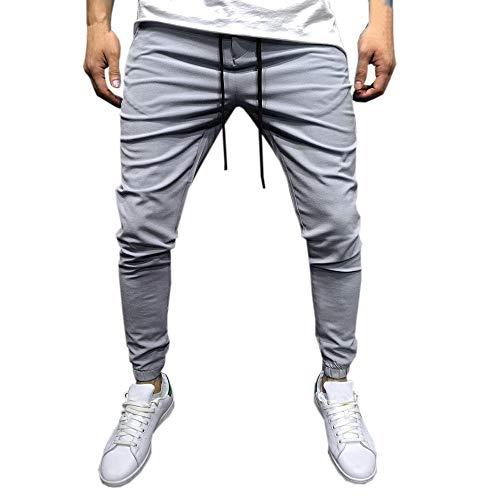 Bazhahei uomo pantaloni,casuale pantaloni uomo lunghi sottile pantaloni sweatpants coulisse tasche laterali trousers della di sport pants elastici casual maschi-2018 moda nuovo stile autunno
