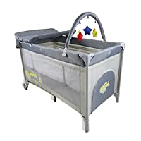 Asalvo 13712 Complet Toys Travel Cot, Multi-Color