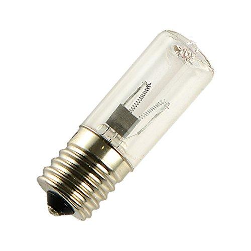 Gaeruite LED Glühlampe, LED Leuchtmittel, LED Birnen, Ersatz-3W Uv-C Birnenlampe, keimtötende Glühlampe 3Watts Lampe 3W E17, Ozon-sterilisierende Lampe für Kühlschränke, Mikrowellen-Öfen