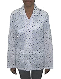 Suncoat- Dust Pollution Protection Driving Traveling Coat Long Sleeves Cotton Jacket for Women (Important Note : Print Design may vary, As per Stock) SunCoat08