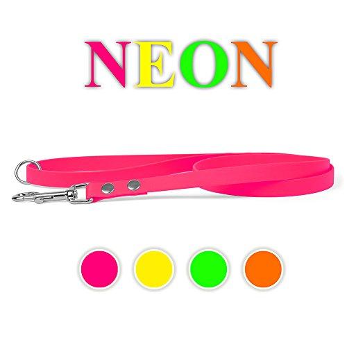 Biothane Hundeleine Neon Grün 16mm 300cm