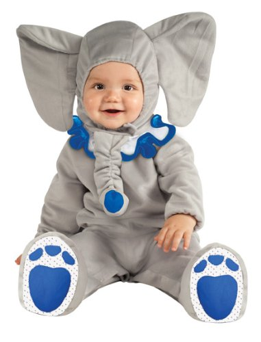Imagen de rubie's  disfraz de elefante para bebé, 12  18 meses 881527t  alternativa