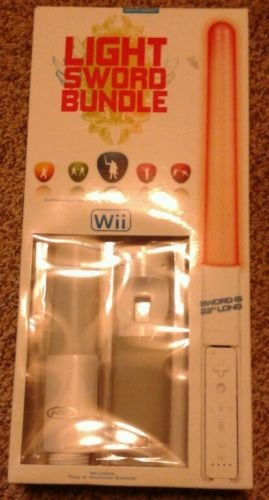 WII Light Sword Controller Bundle, 55,9cm Lang - Wii-lichtschwert