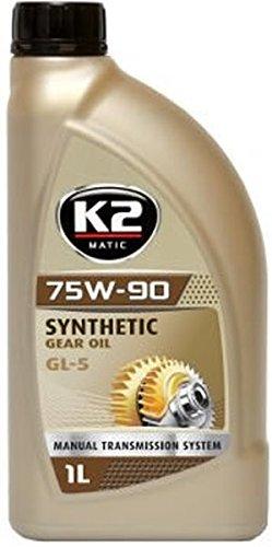 Preisvergleich Produktbild K2 / Getriebeöl,  Nanotechnik,  75W-90,  voll synthetisch,  GL5,  75W90,  75-W90,  1L