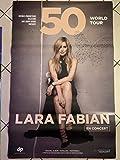 AFFICHE / Lara Fabian - en Concert 2020-80x120cm Poster