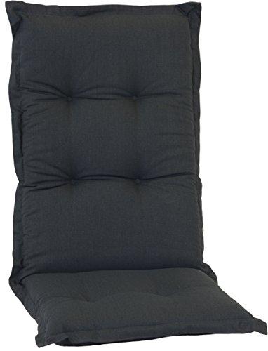 beo AU91 New York HL Luxus-Saumauflage für hochwertiger Bezug mit hoher Lichtechtheit, angenehmer Sitzkomfort Hochlehner, circa 46x 114 cm, circa 7 cm dick (Schaukelstuhl Hochlehner)