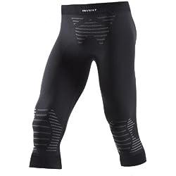 X-Bionic Invent UW, Pantaloni Intimi Termici Uomo a 3/4 , Multicolore (Black), M
