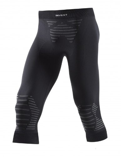 X-Bionic Erwachsene Funktionsbekleidung Man Invent UW Pants Medium, Black/Anthracite, L, I020285