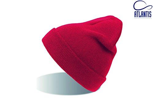 Atlantis - Bonnet - Homme Rouge - Rouge