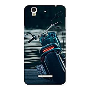 Cute Cruise Bike Multicolor Back Case Cover for YU Yureka Plus