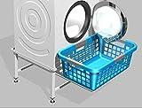 Waschmaschinensockel 30cm verstärkt mit Ablage