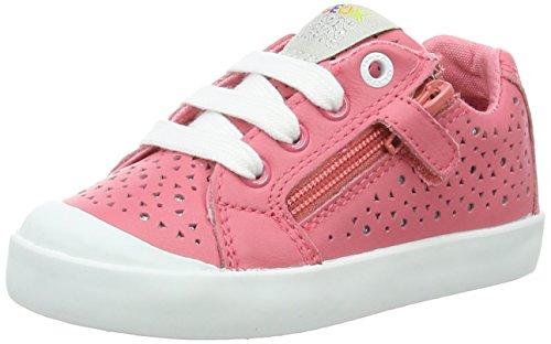 Geox B Kiwi L, Chaussures Marche Bébé Fille Rouge (Lt Coralc7454)