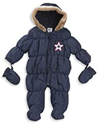 e54a9a99e Style It Up Babies Baby Girl Boy Padded Bubble Coat Jacket Snowsuit  Pramsuit Winter Parka