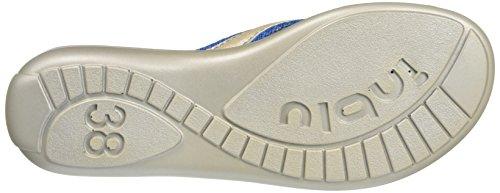 INBLU Damen Stile Flip-Flops Blau (Jeans)