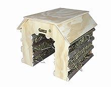 Elmato 10590 casetta per roditori con 2 ingressi in Hay Barn Design Abete
