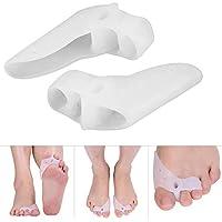 Sonew 2 Paar Gel Zehenseparator für Hallux Valgus Hammer Zehenkorrektur Fußpflege, Ergonomie Design Atmungsaktiv... preisvergleich bei billige-tabletten.eu
