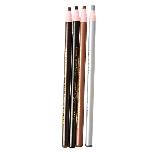 SODIAL(R)4pcs Maquillage Crayon a sourcils outil cosmetique