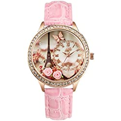 Didofà, Italian Designed Wrist Watch - Women's 3D Water Resistant Wrist Watch ,, DF-1216B