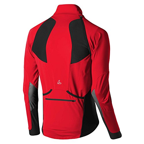 "Löffler BIKE ZIP-OFF-JACKE SAN REMO"" WS LIGHT Softshelljacke Herren red"