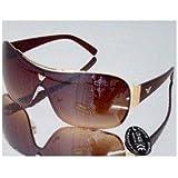 OR1 TOP GUN Fliegerbrille im vollglas Design in Braun