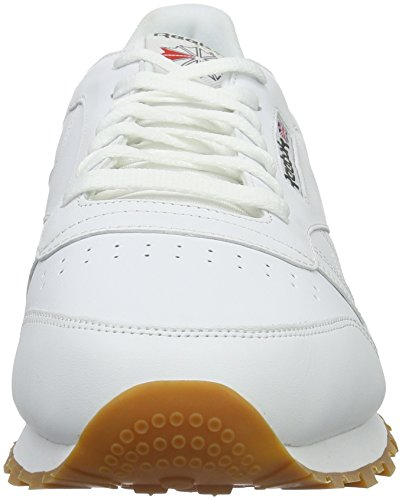 Reebok Classic Leather, Sneakers basses homme Blanc (White/Gum)