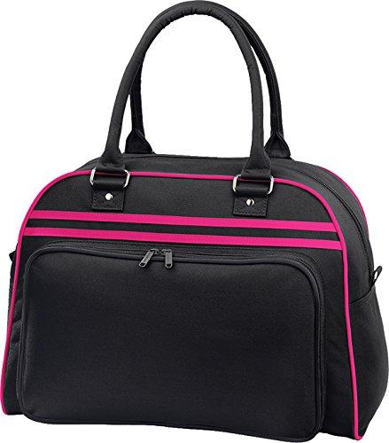 Da Bowling BagBase 1 Pack Black / Fuchsia