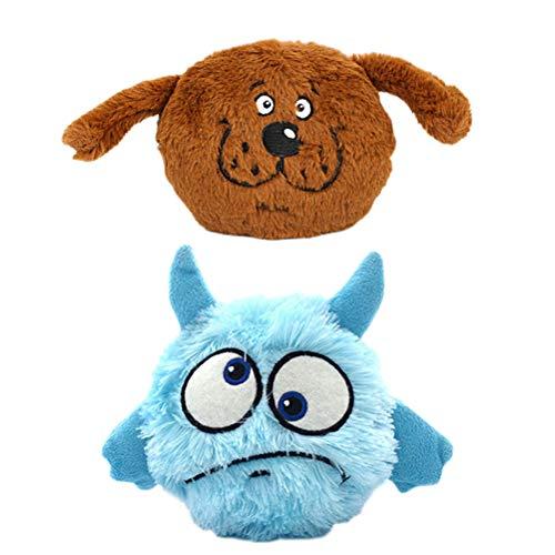 POPETPOP 2 STÜCK Pet Liefert Hund Vocal Vibration Elektrische Spielzeug Ball Hund - Vibration Hundespielzeug