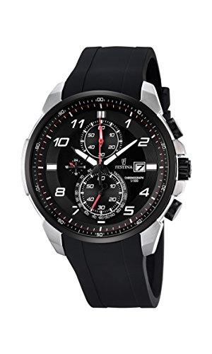 Festina F6841_4 - Reloj Analógico Para Hombre, color Negro/Negro